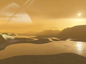 A speculative view from Titan's surface