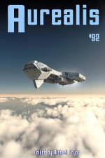 Aurealis #92 cover space ship Michael Pryor
