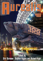 Aurealis #100 cover for epublication