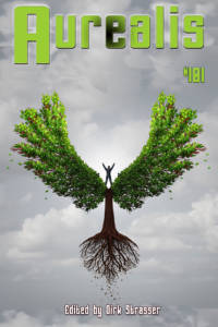 Aurealis #101 cover flying tree