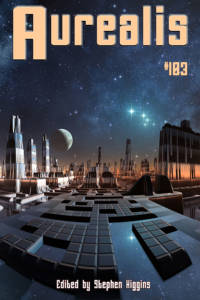 Aurealis #103 cover city with starscape