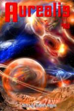 Aurealis #109 cover Space landscape