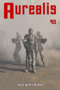 Aurealis #113 cover Space marines