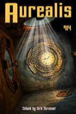 Aurealis #114 cover clock