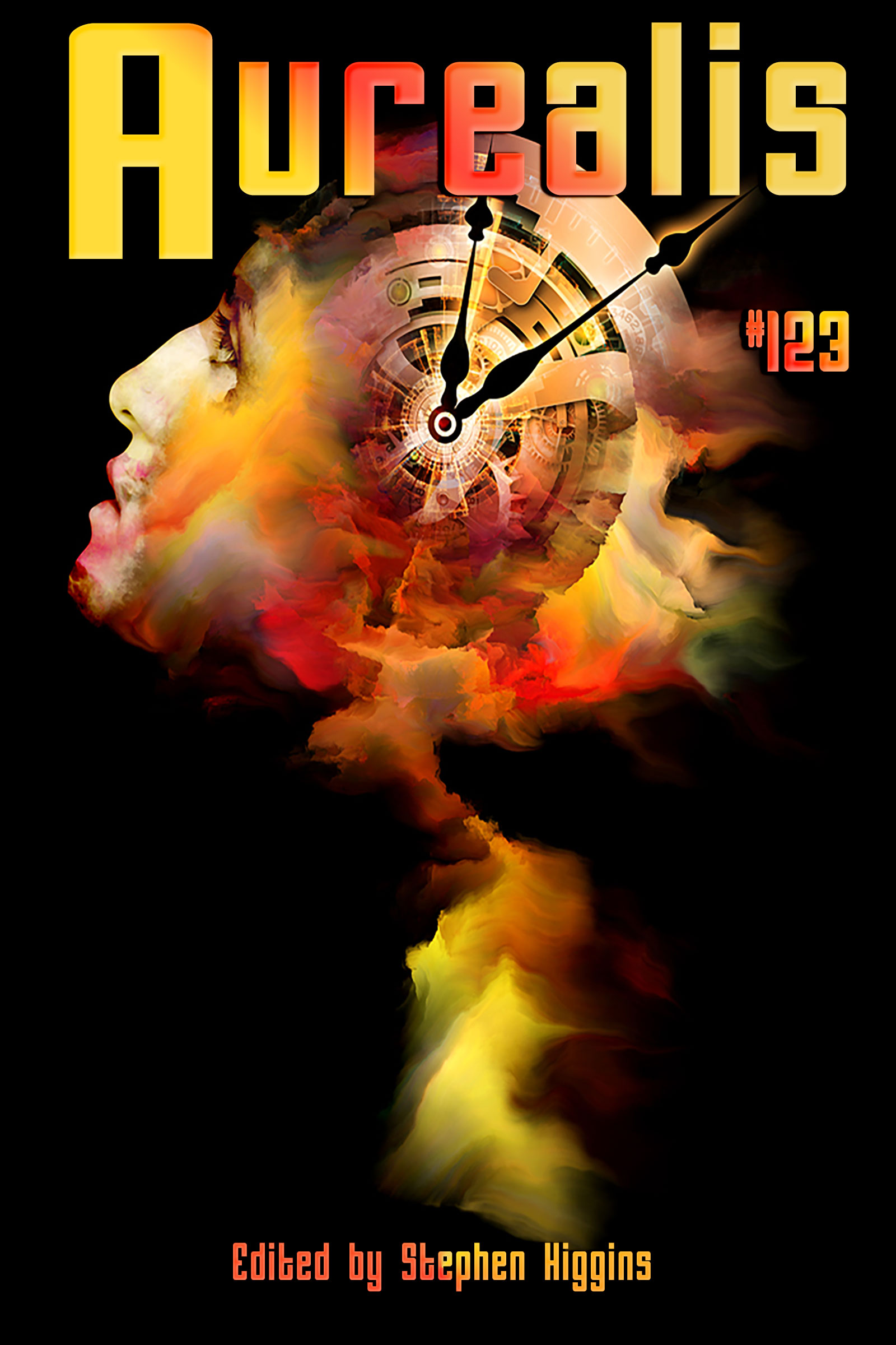 Aurealis-123-cover-clock-flame-man