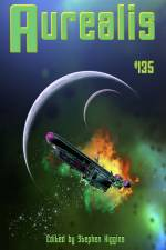 Aurealis 135 cover image spaceship with colour cloud